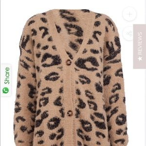 Goodnight Macaroon leopard cardigan